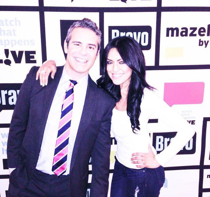 TV show host Andy Cohen and Las Vegas luxury realtor Mahsheed Barghisavar