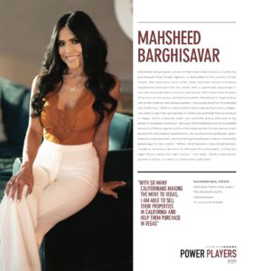 Vegas Magazine article feature about Mahsheed
